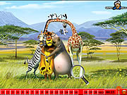 Hidden Numbers - Madagascar game