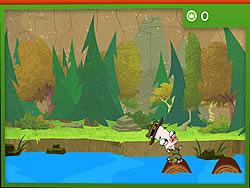 River Whoosh Log Hop game