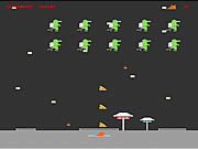 Play Flyingpizza kitty in attack of the jetpack lizard Game