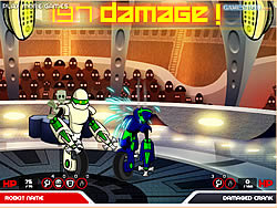 Chrome Wars Arena game