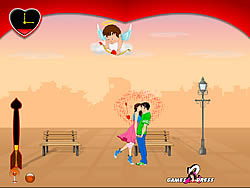 "Lover""s Day Kiss game"