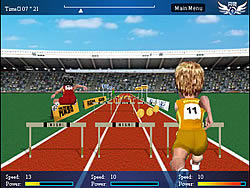 Hurdle Race game