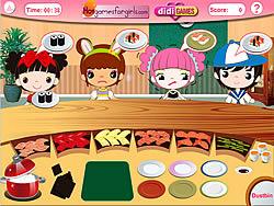 Busy Sushi Bar game