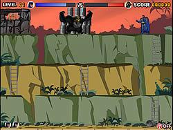 Gioca gratuitamente a Gorilla Grodd - Barrels of Peril