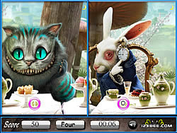 Alice in Wonderland Similarities game