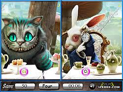 Gioca gratuitamente a Alice in Wonderland Similarities