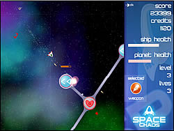 Space Chaos game