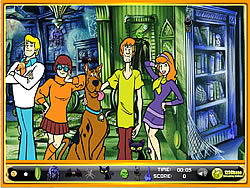 Scooby-Doo Hidden Objects game
