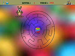 Easter Maze game