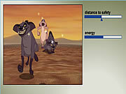 Play Hyena chase Game