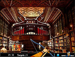 Hidden Targets - Library game