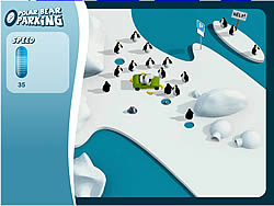 Polar Bear Parking game