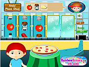 Play Andys pizza shop Game