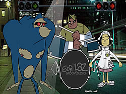 Gorillaz Groove Session game