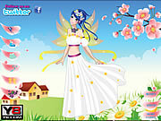 Play Flower fairy cutie dress up Game