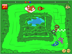 Tornado Race game