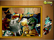 Play Puzzle madnes power rangers Game