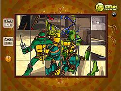 Permainan Spin N Set - Ninja Turtle