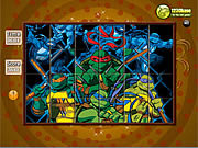 Play Spin n set ninja turtle Game