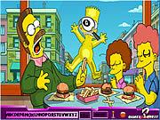 Play free game Hidden Alphabets - Simpson
