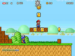 Juega al juego gratis Super Mario Star Scramble 2