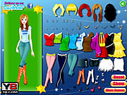 Play Beautiful country girls dress up Game