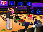 Play Bowling kissing Game