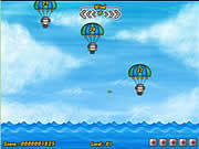 Play Save the army from blue shark Game