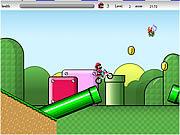 Play Super mario cross Game