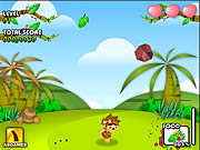 Play Volcano panic in island Game