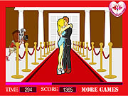 Play Celebrity long kisses Game