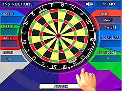 Crazy Darts game