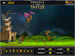 Protect The Castle game