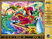 Play Peter pan find the alphabets Game