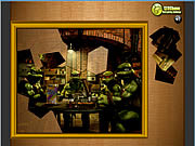 Puzzle Madness - Ninja Mutant game