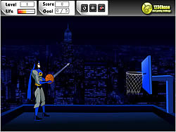 Batman - I Love Basketball game