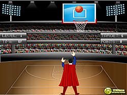 Batman vs Superman Basketball Tournament game