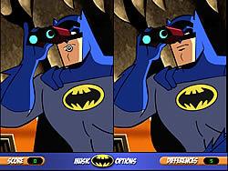 Gioca gratuitamente a Batman Difference Detector