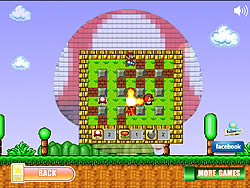 Super Mario Bomber game