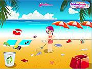 Jugar Summer beach clean up Juego