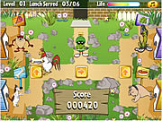 Play Looney tunes looney lunch Game