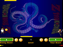 Dragon Ball Z Pong oyunu