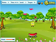 Spongebob Squarepants - Food Catcher game