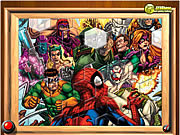 Spiderman VS Villains Fix My Tiles لعبة