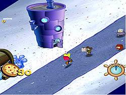 Sponge Bob Square Pants: Pizza Toss oyunu