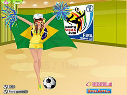 WorldCup DressUp  game