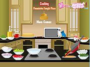 juego Cooking Prosciutto Funghi Pizza