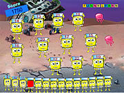 Play Spongebobs counting game Game