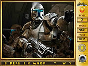 Play Star the clone wars find the alphabets Game