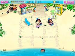 Huru Beach Party game